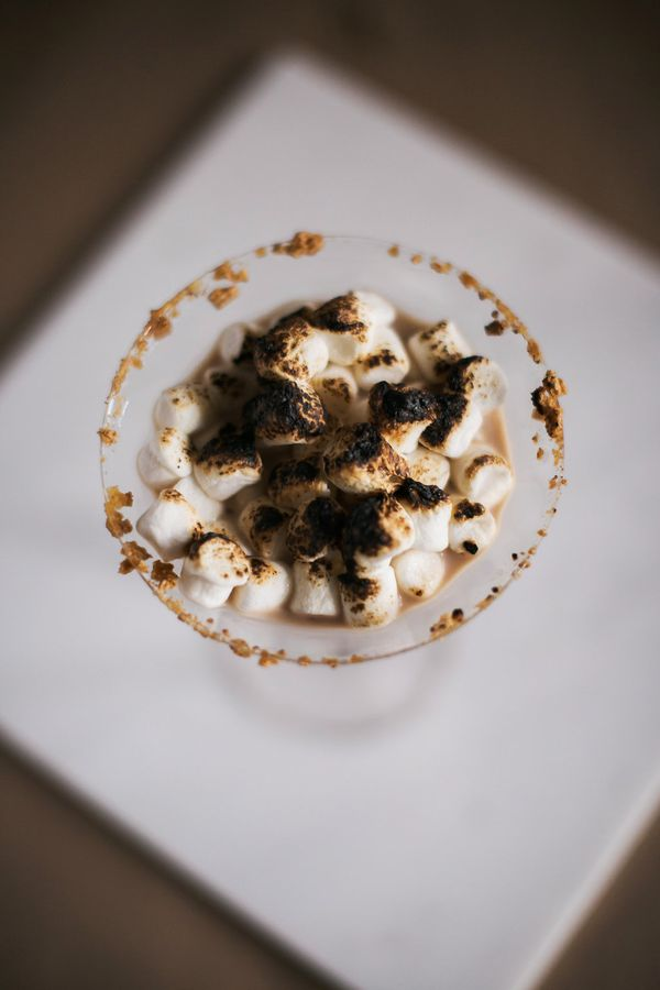 Smore MartiniSignature Holiday Drink, Dream Events & Catering, Jen & Chris Creed Photo (2)