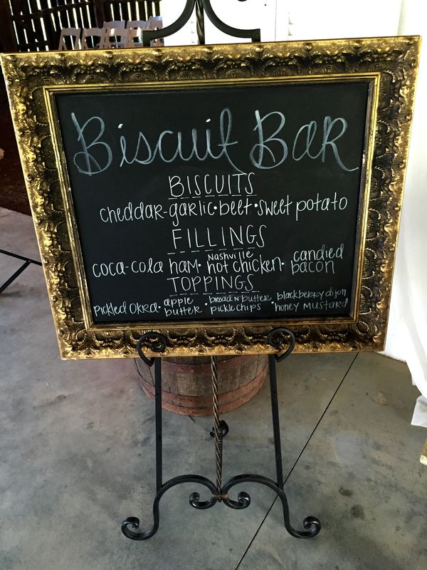 Biscuit Bar, Dream Events & Catering Nashville Caterer (1)