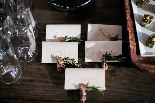 Holiday Place Card Ideas, Dream Events & Catering, Jen & Chris Creed (1)