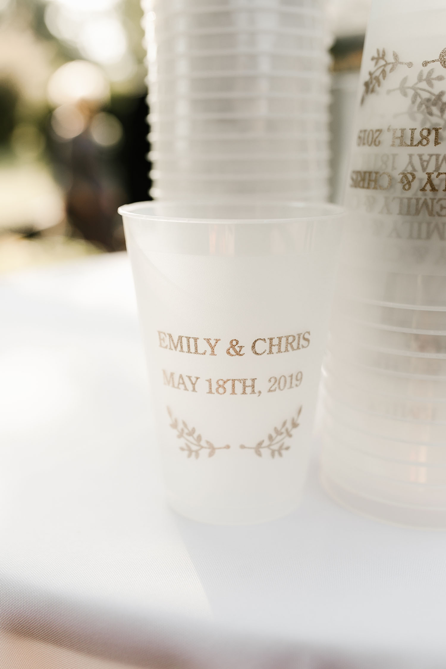 Custom Printed Cups
