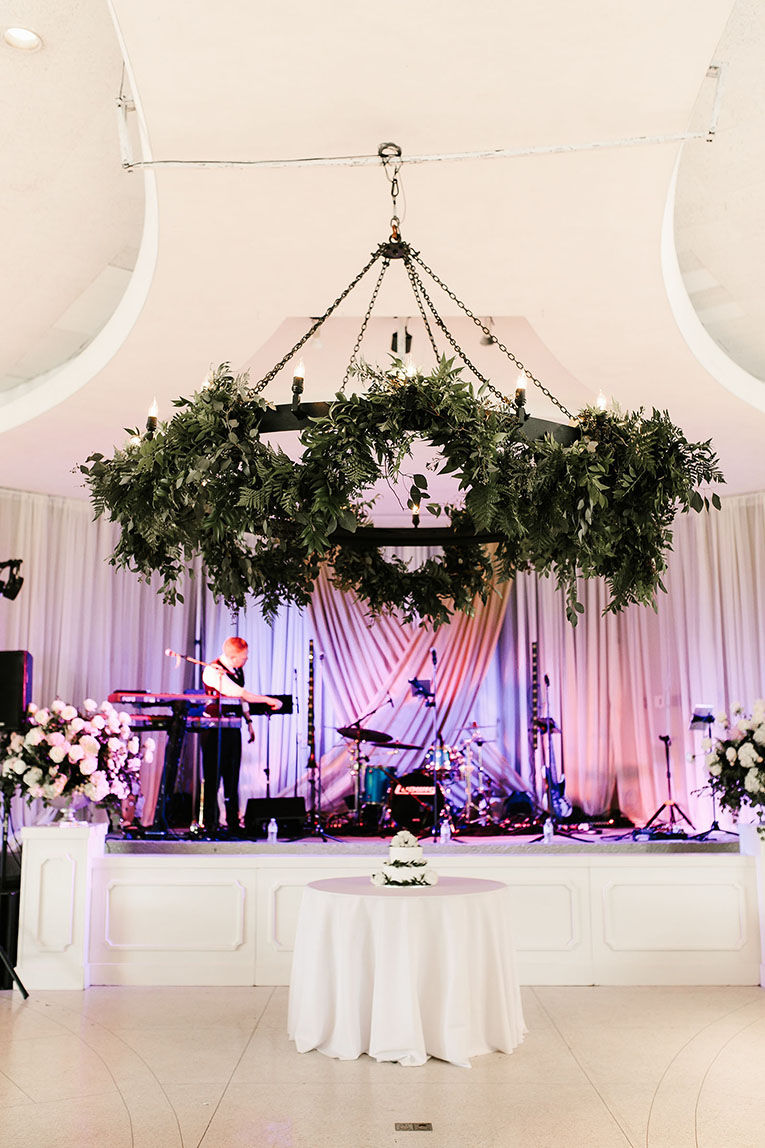 Elegant Spring Wedding Reception Setup