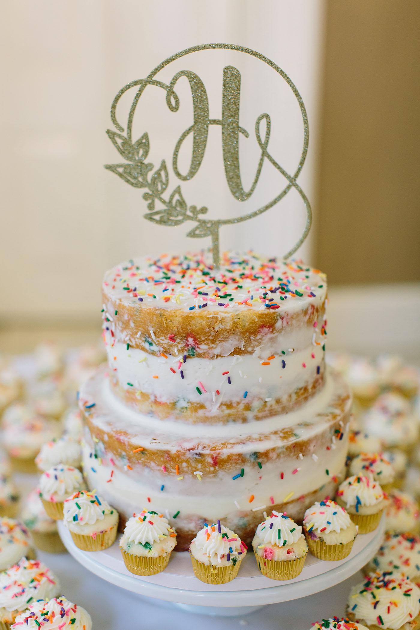 Tiered Funfetti Cake