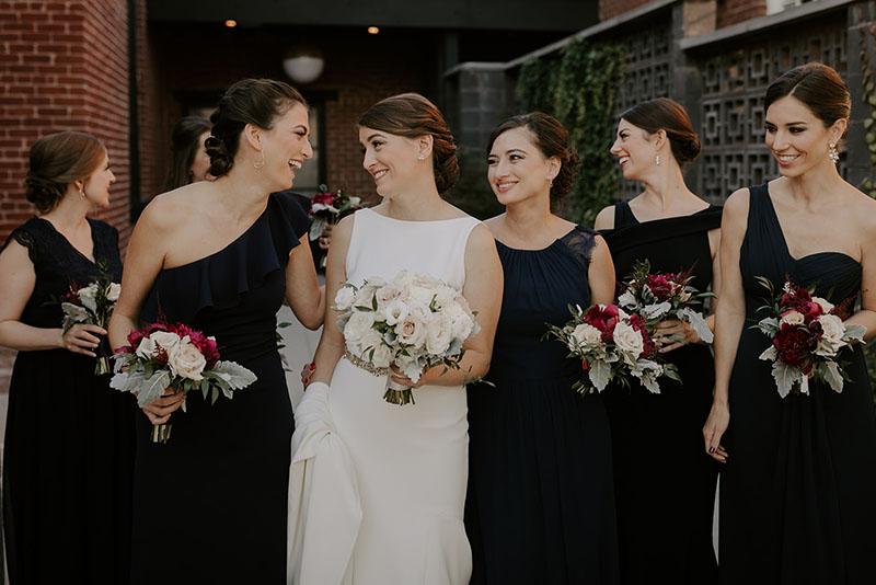 Laura + Bridesmaids