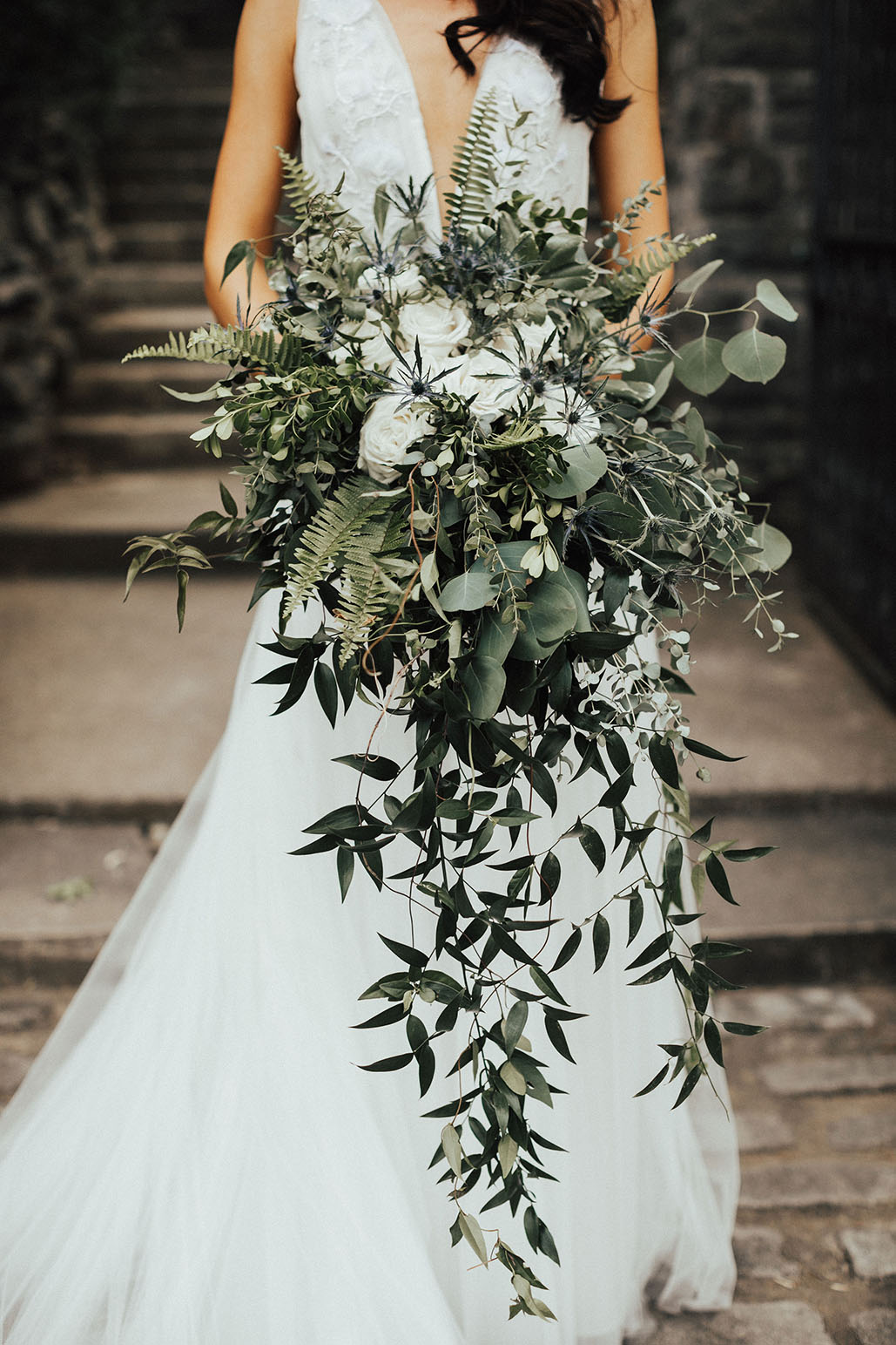 Boho Garden Wedding Bouquet