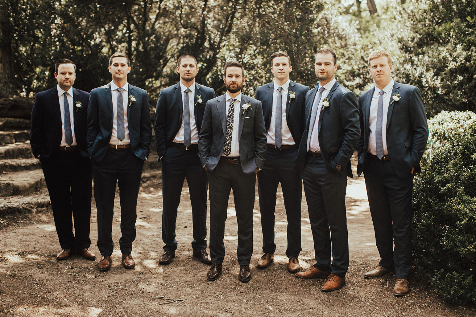 Russ with Groomsmen