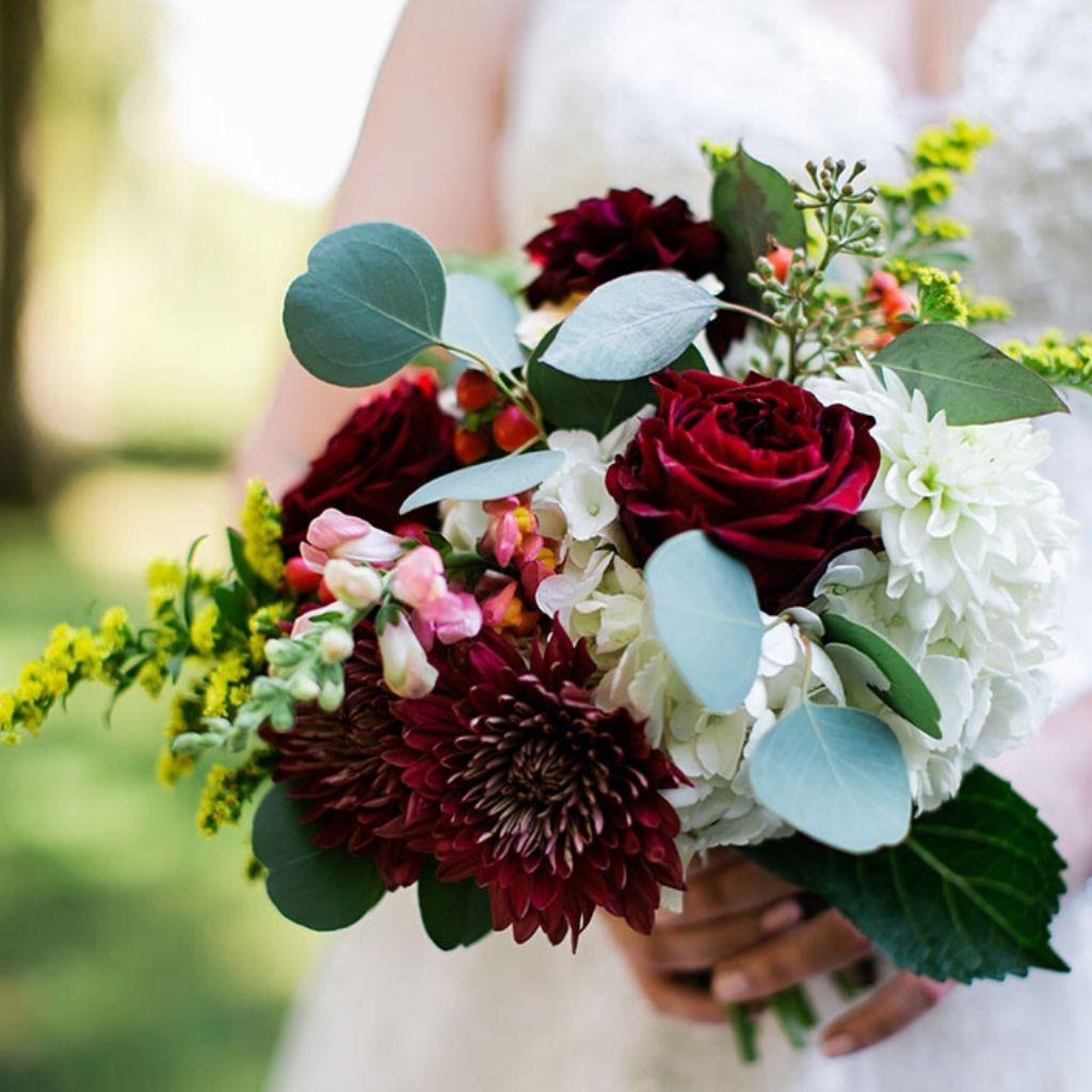 Laura's Wedding Flower Bouquet