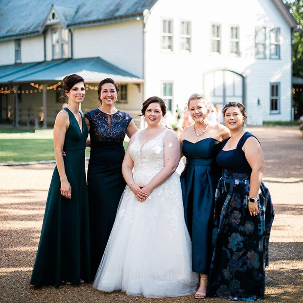 Laura and Bridesmaids