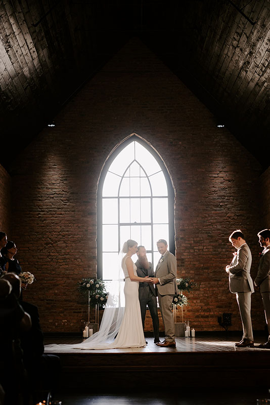Natural Light Wedding Ceremony