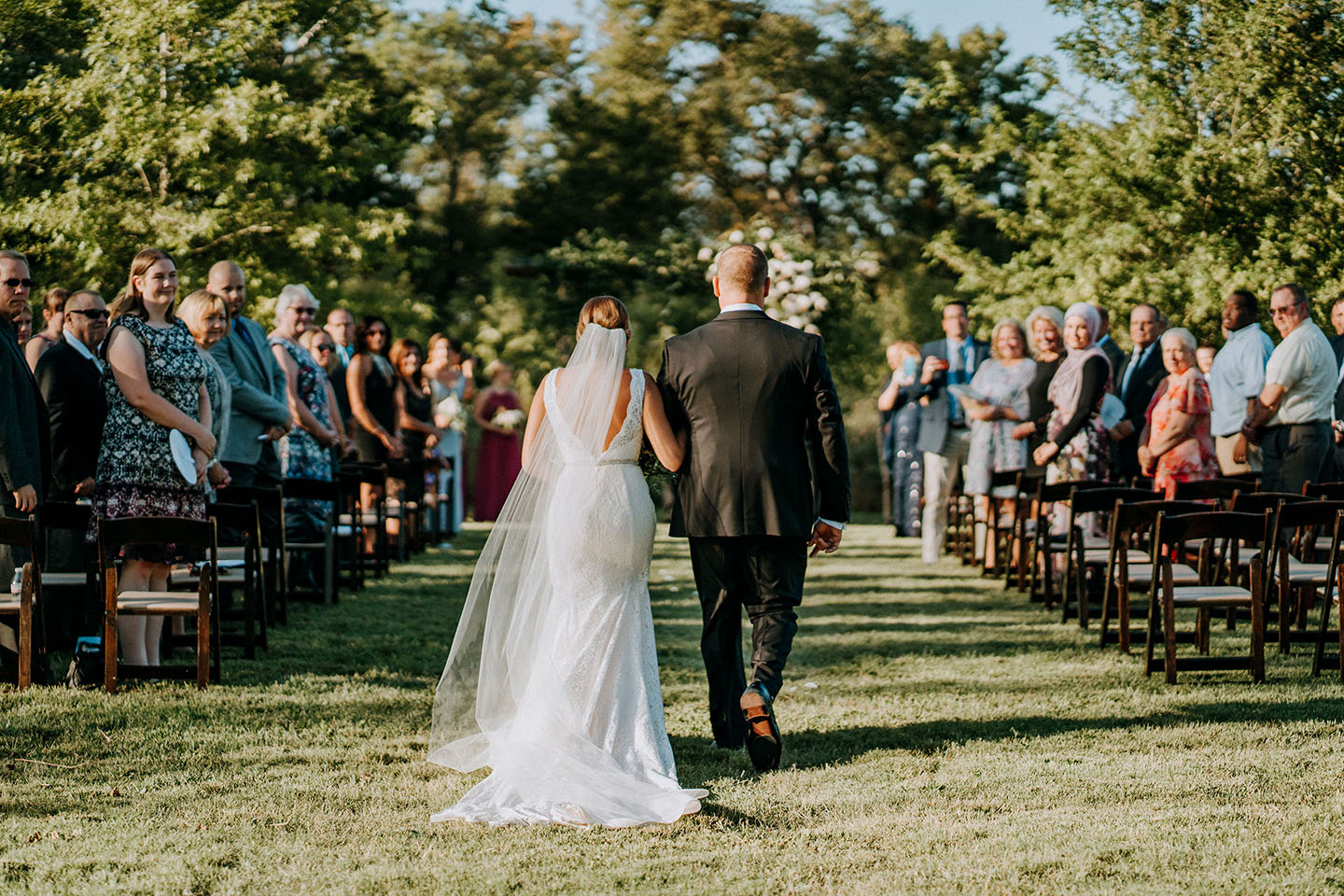 Alyssa Walking Down Aisle