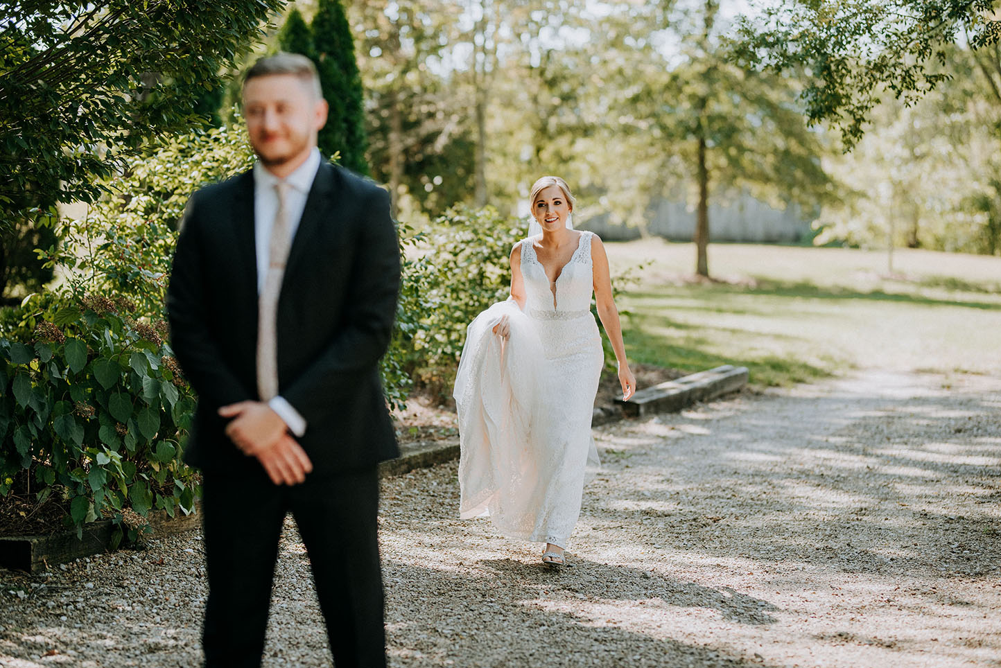 Alyssa and Barrett's First Look