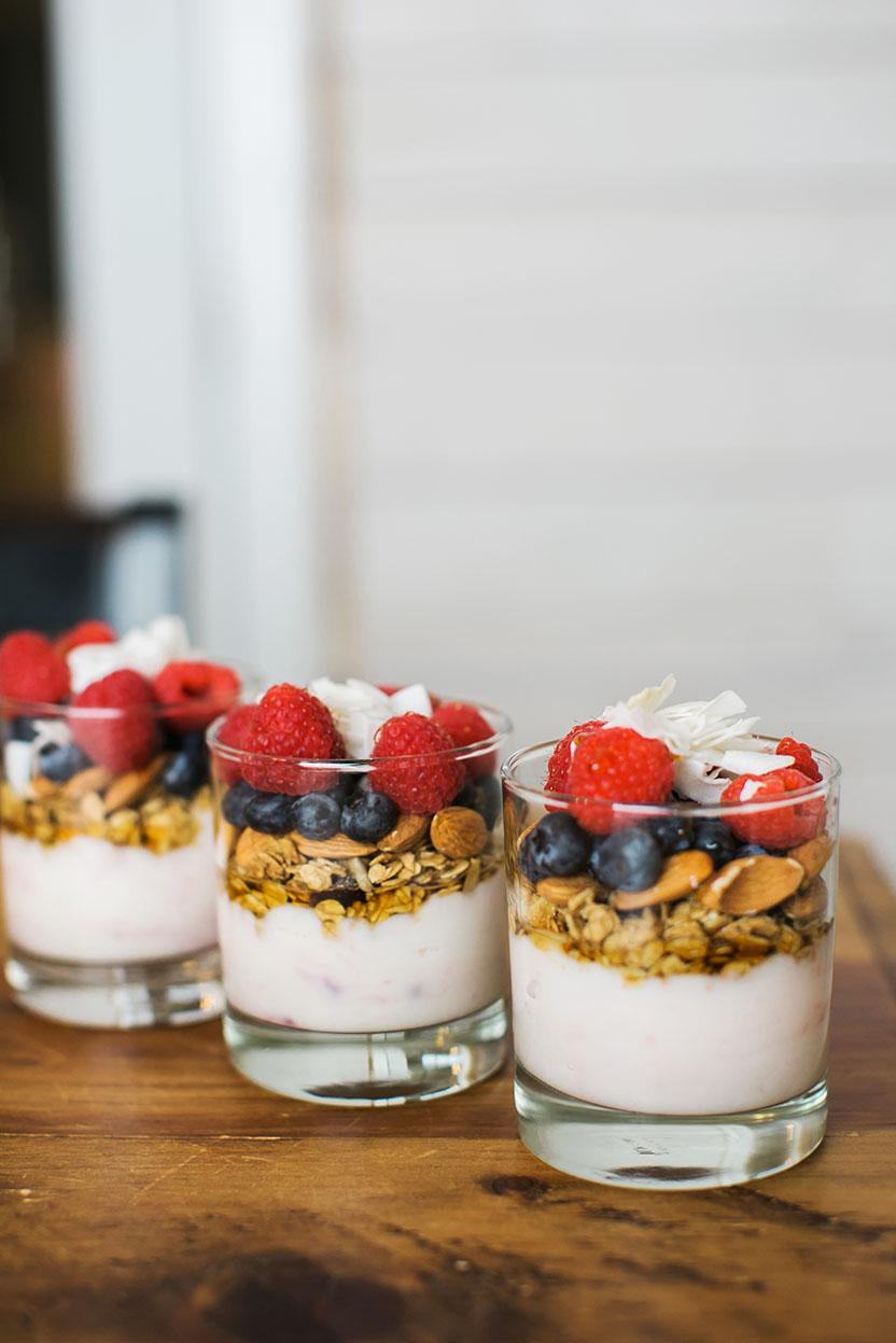Miniature Breakfast Parfaits