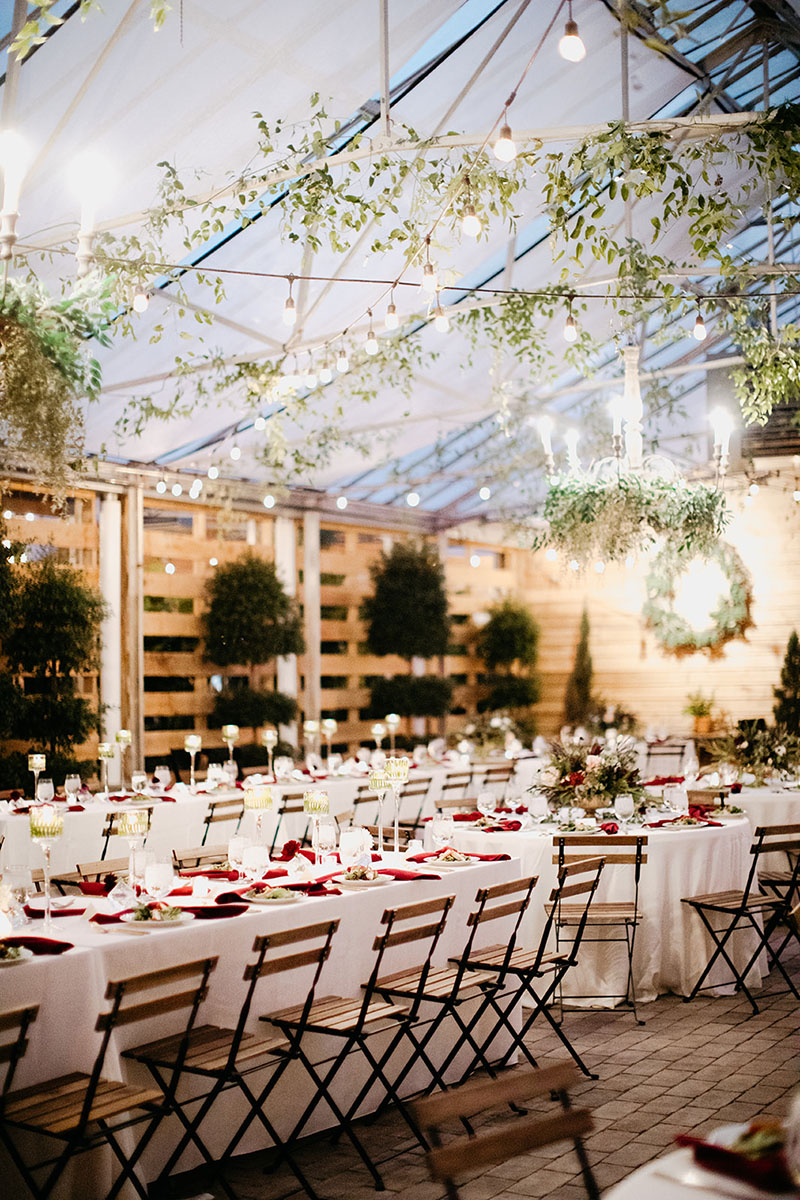 Elegant Rustic Wedding Reception Design