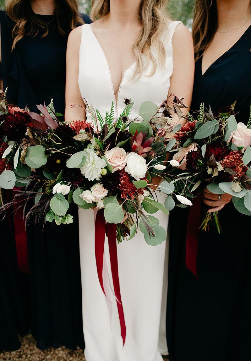 Elegant Rustic Wedding Bouquets