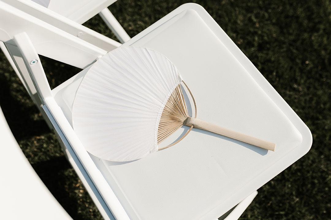 Handheld Paper Fan